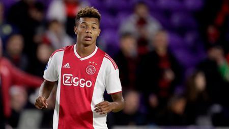 David Neres, pemain muda Ajax Amsterdam asal Brasil. - INDOSPORT