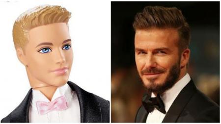Menurut survei, David Beckham difavoritkan jadi pemeran Ken di film Barbie. - INDOSPORT