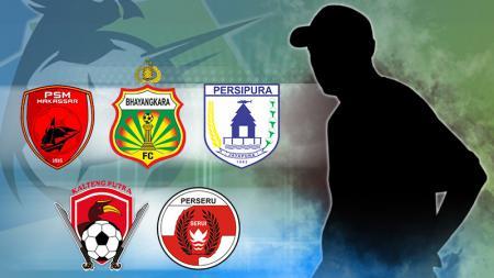 Menilik Pelatih yang Cocok Untuk 5 Klub Liga 1. - INDOSPORT