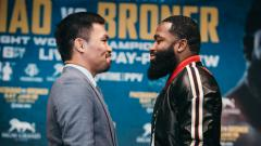Indosport - Duel Adrien Broner vs Manny Pacquiao.
