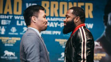 Duel Adrien Broner vs Manny Pacquiao yang akan digelar 19 Januari 2019 - INDOSPORT