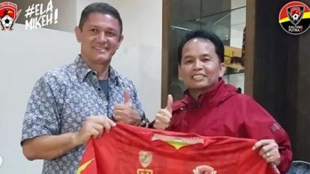 Gomes De Oliveira resmi diperkenalkan Kalteng Putra. - INDOSPORT