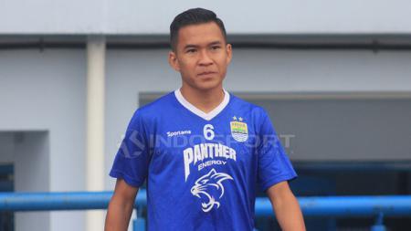 Pemain Persib Bandung, Erwin Ramdani. - INDOSPORT
