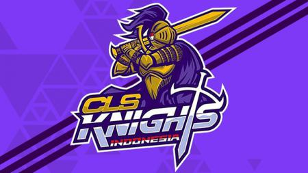 Logo tim basket asal Indonesia, CLS Knights Surabaya yang bermain di Asean Basketball League. - INDOSPORT