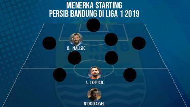 Menerka Starting Persib Bandung di Liga 1 2019