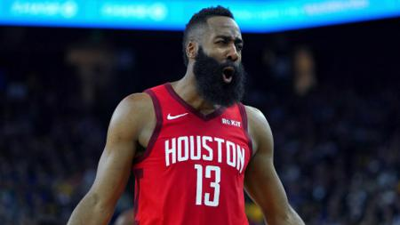 James Harden, pemain megabintang milik Houston Rockets. - INDOSPORT
