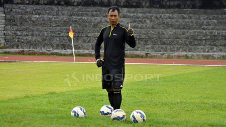 Pelatih kiper PSIS Semarang, I Komang Putra, punya pendapat soal komposisi skuat menjelang Liga 1 2020. - INDOSPORT