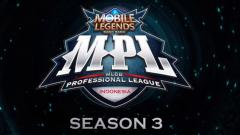 Indosport - Mobile Legends MPL Season 3