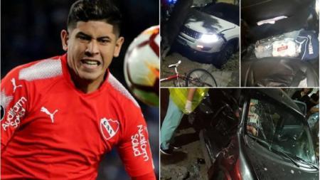 Pemain Timnas Argentina, Alan Franco yang menabrak seorang wanita hamil di Buenos Aires - INDOSPORT