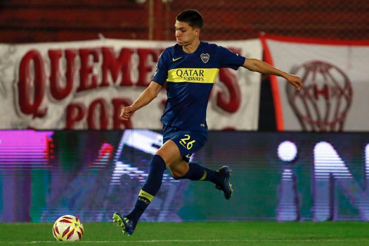 Leonardo Balerdi saat masih bermain untuk Boca Juniors. Copyright: INDOSPORT