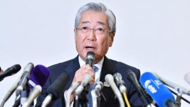 Tsunekazu Takeda, ketua komite Olimpiade Tokyo 2020. - INDOSPORT