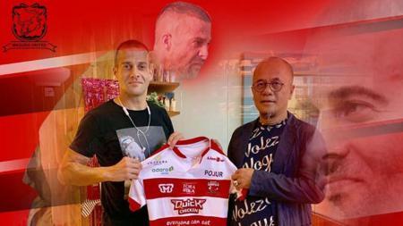 Aleksandar Rakic ke Madura United. - INDOSPORT