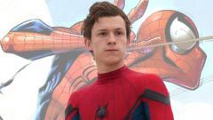 Indosport - Tom Holland, pemeran utama di film Spiderman Far From Home