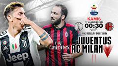 Indosport - Pertandingan Juventus vs AC Milan (Prediksi).