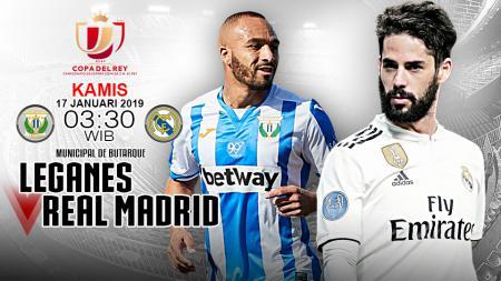 Pertandingan Leganes vs Real Madrid (Prediksi). - INDOSPORT