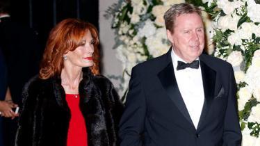 Harry Redknapp bersama sang istri, Sandra. - INDOSPORT