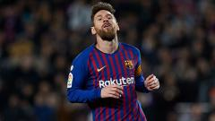 Indosport - Lionel Messi, pemain megabintang Barcelona.