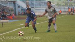 Indosport - Akbar Riansyah (kiri).