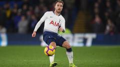 Indosport - Christian Eriksen, playmaker Tottenham Hotspur.