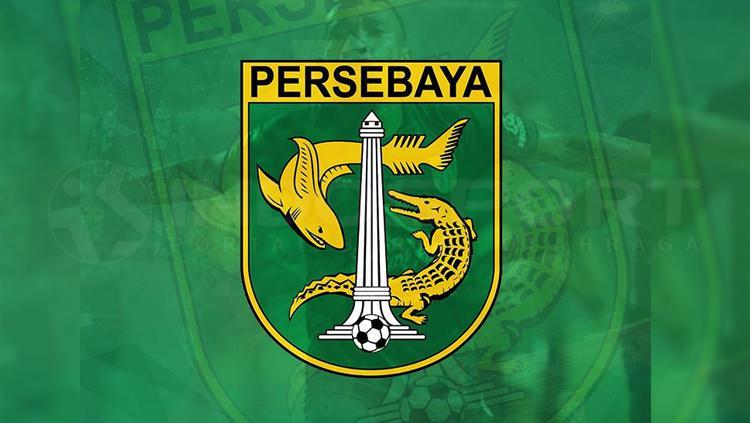 Ilustrasi logo Persebaya Surabaya. Copyright: INDOSPORT