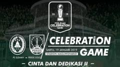 Indosport - Brigata Curva Sud mempersembahkan pertandingan bertajuk Celebration Game antara PSS Sleman vs Persis Solo.