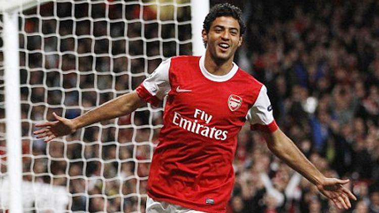 Carlos Vela saat membela Arsenal Copyright: INDOSPORT