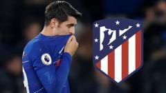 Indosport - Alvaro Morata diisukan ke Atletico Madrid.