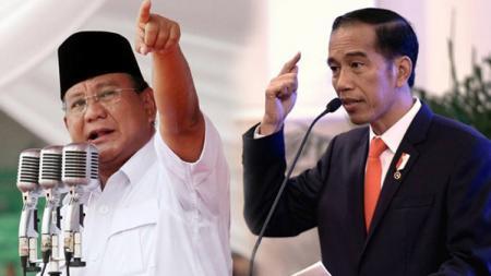 Calon Presiden Prabowo dan Jokowi - INDOSPORT
