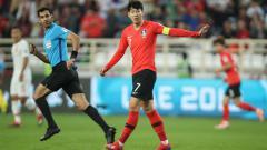 Indosport - Song Heung-min saat melawan China di Piala Asia 2019