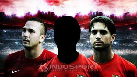 Tiga pemain naturalisasi Indonesia terburuk dalam sejarah Timnas - INDOSPORT