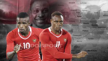 Empat pemain naturalisasi asal Nigeria - INDOSPORT