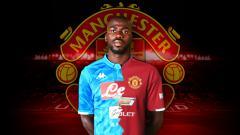 Indosport - Kalidou Koulibaly sempat dikabarkan semkain dekat Ke Manchester United.