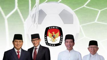 Debat Capres dan Cawapres sepak bola - INDOSPORT
