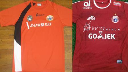 Perbedaan jersey Persija Jakarta 2009 dan 2019 - INDOSPORT
