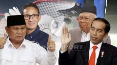 Indosport - Prabowo-Sandi vs Jokowi-Amin