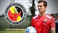 Indosport - Gelandang asal Brasil, Nildo Victor Juffo yang merapat ke Semen Padang.