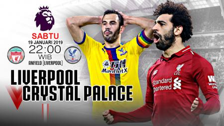 Link live Streaming Liga Primer Inggris Liverpool vs Crystal Palace. - INDOSPORT
