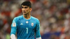 Indosport - Kiper Timnas Iran, Alireza Beiranvand.