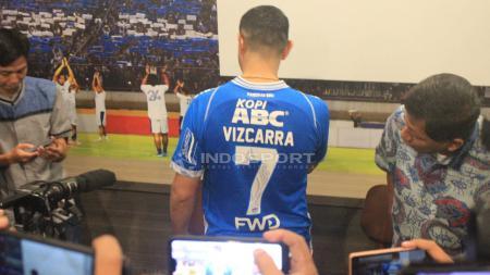 Esteban Vizcarra (Persib Bandung) - INDOSPORT
