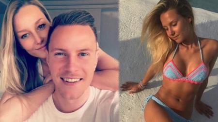 Daniela Jehle, Istri kiper Barcelona Marc-Andre ter Stegen - INDOSPORT