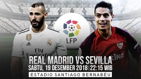 Prediksi pertandingan Real Madrid vs Sevilla - INDOSPORT