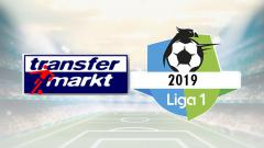 Indosport - Transfermarkt dan logo Liga 1 2019