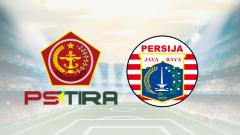 Indosport - Logo PS TIRA dan Persija Jakarta