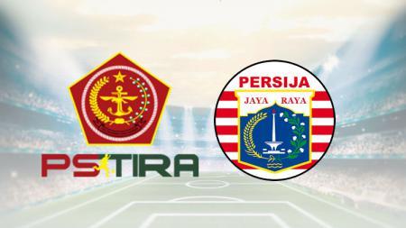 Logo PS TIRA dan Persija Jakarta - INDOSPORT