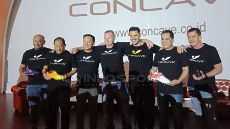 Suasana konferensi pers dan peluncuran perdana produk Concave di Indonesia - INDOSPORT