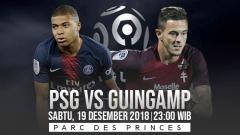 Indosport - Prediksi pertandingan Paris Saint-Germain vs Guingamp
