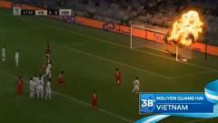 Indosport - AFC edit video gol Vietnam ke gawang Yaman menjadi ledakan.