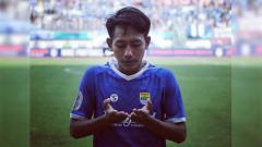 Indosport - Pemain Persib Bandung U-19 Beckham Putra Nugraha.