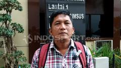 Indosport - Manajer Madura FC, Januar Herwanto.