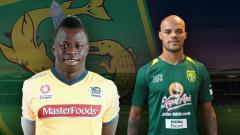 Indosport - Perbandingan Malick Mane dengan David da Silva